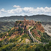Civita di Bagnoregio and Valle of Calanchi