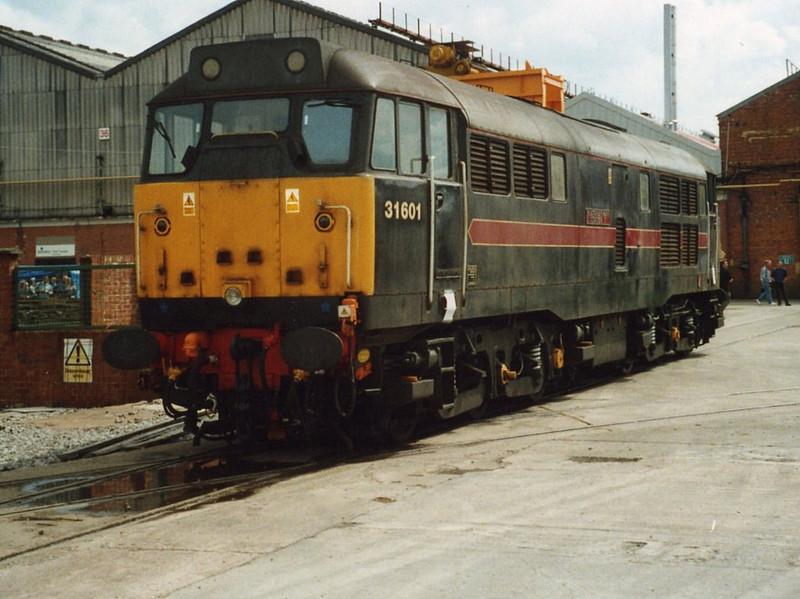 31601, ADTranz Crewe. May 2000.