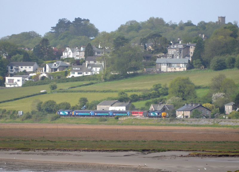 37423 and 37609, Grange over Sands. 21/05/15.