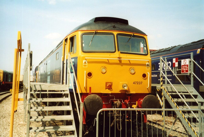 47237, DRS Carlisle Kingmoor. June 2003.