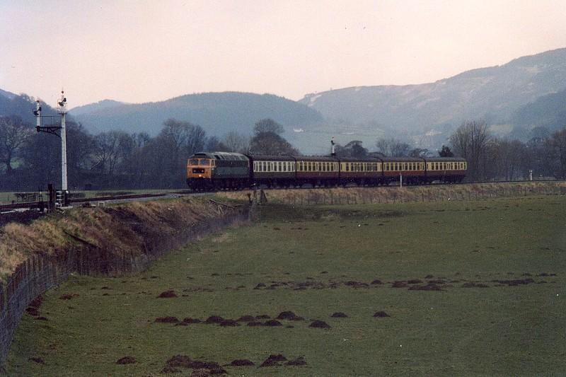 47449, Llangollen. February 2005.