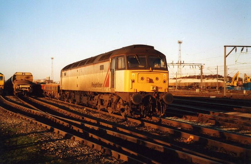 47302, Crewe Basford Hall. December 2001.