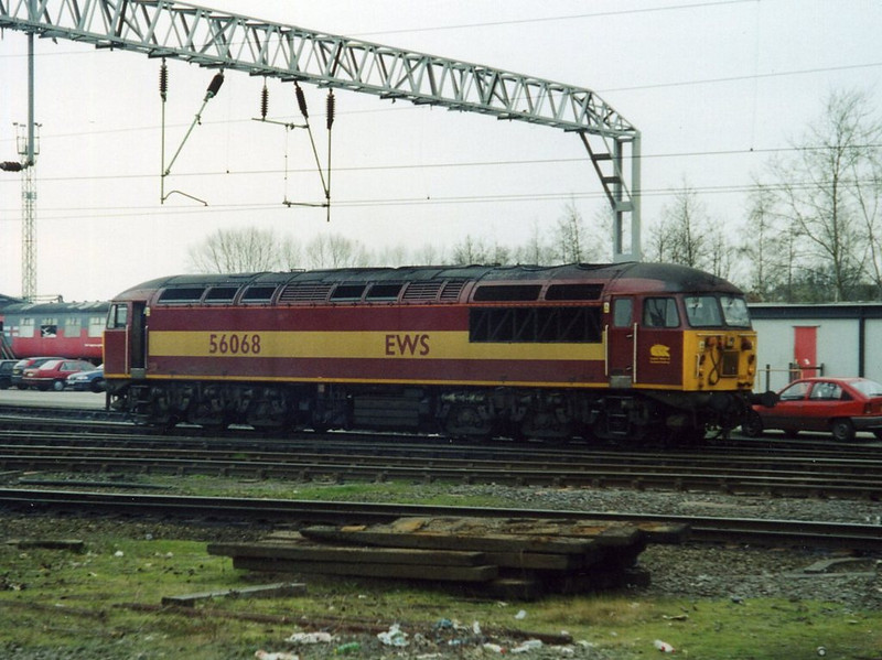56068, Crewe. March 2002.