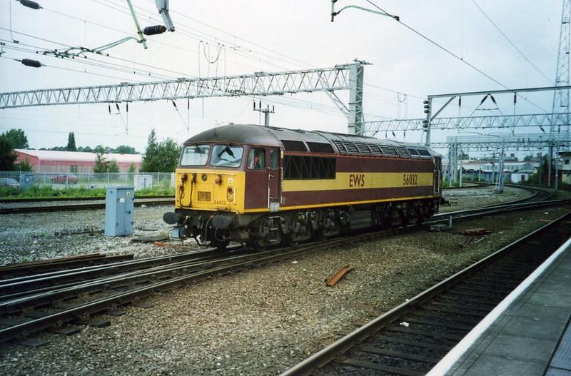 56032, Crewe. August 2002.