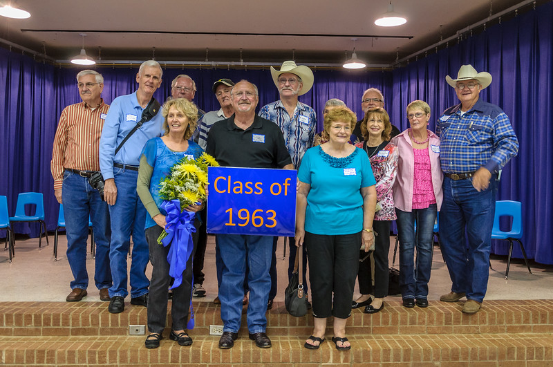 RSHS Class of 1963 at Homecoming Meeting