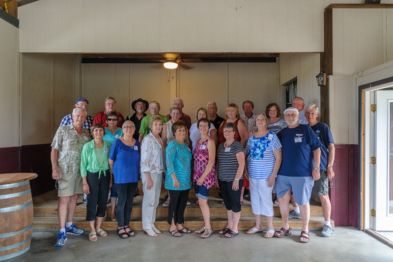 Gibault Catholic High School Class of 1967 at Their 48-Year Reunion in Red Bud, IL