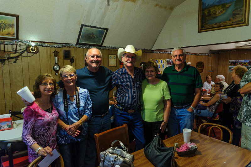 RSHS Class of 1963 at Cook's Fish Barn