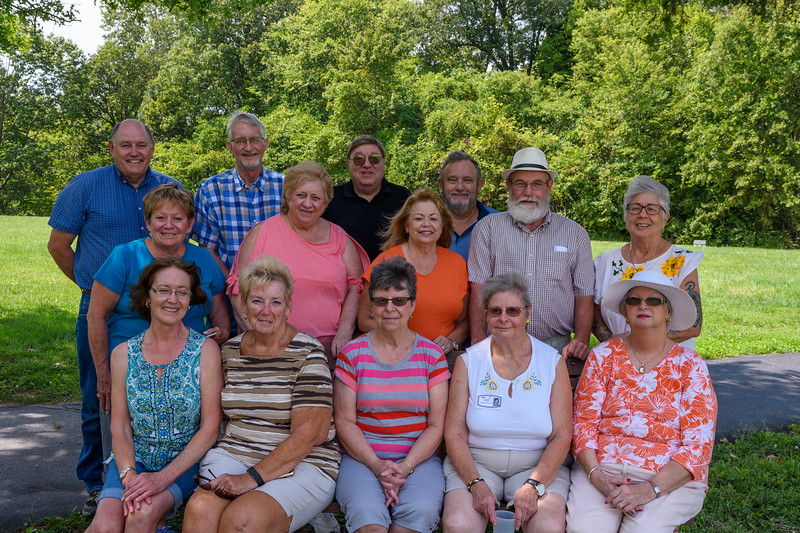 Gibault Catholic High School Class of 1967 at Their 50-Year Reunion in Waterloo, IL