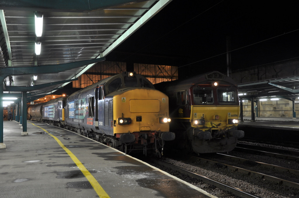 37610 with 57003 and 66006, Carlisle.