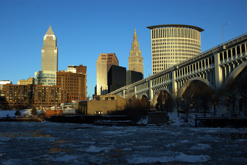 Photo By Robert Bodnar....................................Cleveland During the Day