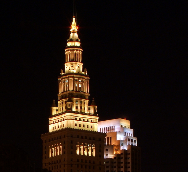 Photo By Robert Bodnar.............................       Clevelands Terminal Tower