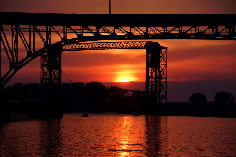 Photo By R Bodnar..................Summer Solstice Sunset Cleveland Oh<br /> Capturing God's Creation