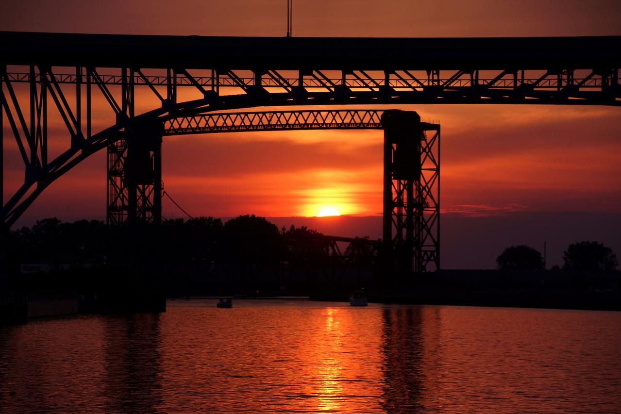 Photo By R Bodnar..................Summer Solstice Sunset Cleveland Oh<br /> Capturing God's Creation