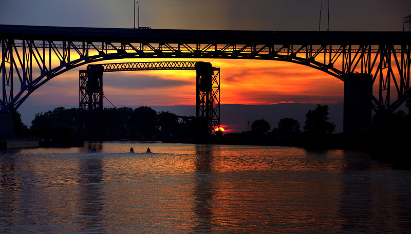 Photo By R Bodnar...................Summer Solstice Sunset Cleveland Oh<br /> Capturing God's Creation