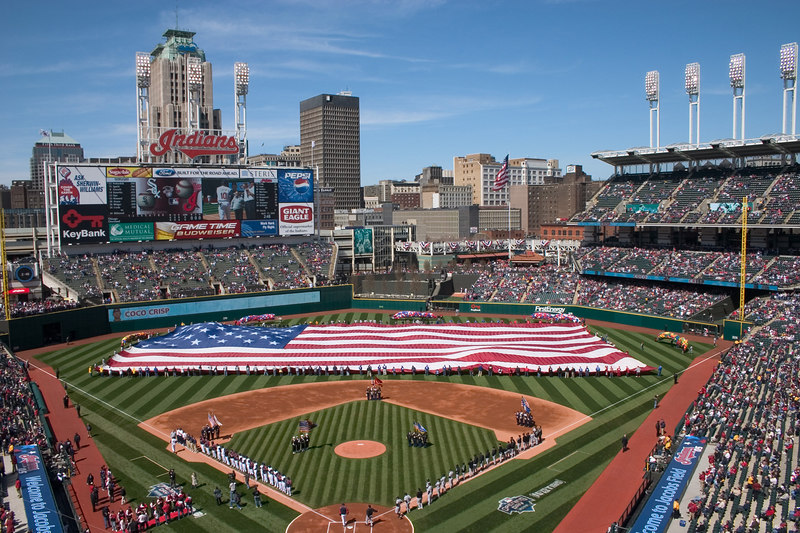 4616 Opening Day Jacobs Field