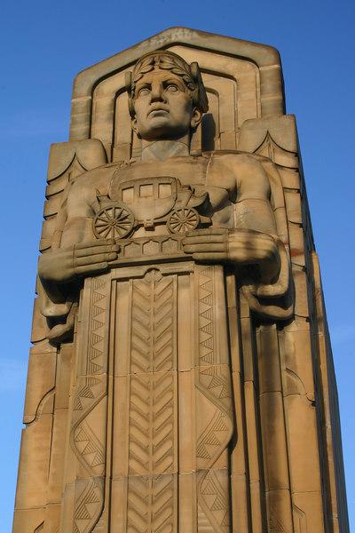 3133 Hope Memorial Bridge Statue