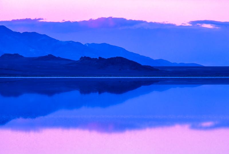 Blue Meditation   Great Salt Lake
