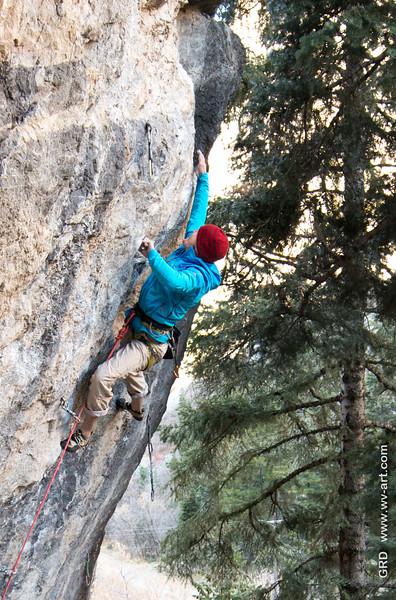 Climbing_American Fork Canyon_Utah_photo by Gabe DeWitt_November 02, 2013-22