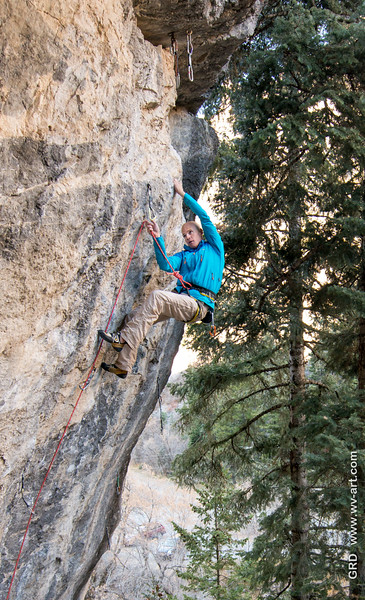 Climbing_American Fork Canyon_Utah_photo by Gabe DeWitt_November 02, 2013-71