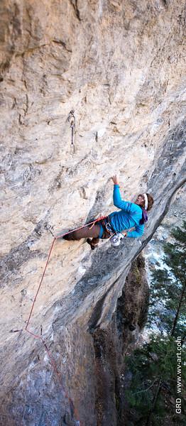 Climbing_American Fork Canyon_Utah_photo by Gabe DeWitt_November 02, 2013-105