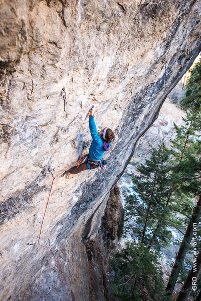 Climbing_American Fork Canyon_Utah_photo by Gabe DeWitt_November 02, 2013-109