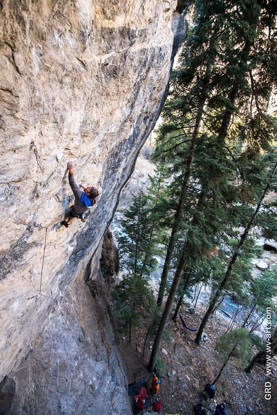 Climbing_American Fork Canyon_Utah_photo by Gabe DeWitt_November 02, 2013-156