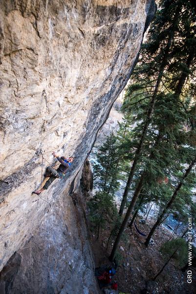 Climbing_American Fork Canyon_Utah_photo by Gabe DeWitt_November 02, 2013-150