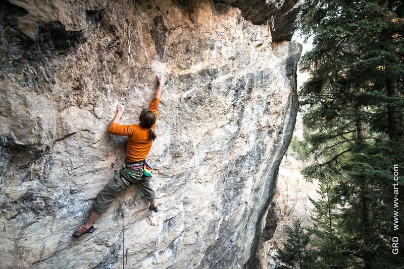 Climbing_American Fork Canyon_Utah_photo by Gabe DeWitt_November 02, 2013-172