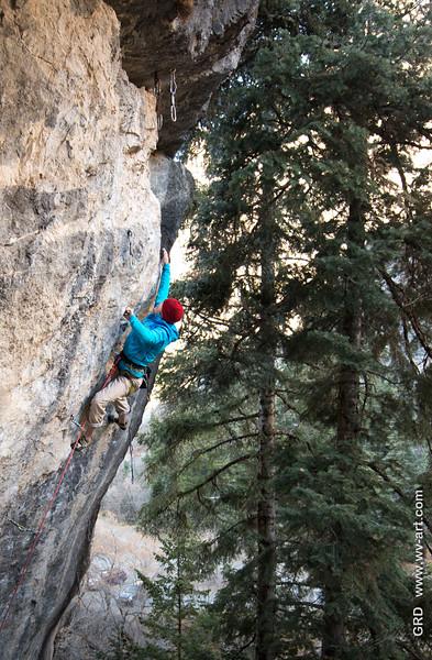 Climbing_American Fork Canyon_Utah_photo by Gabe DeWitt_November 02, 2013-21