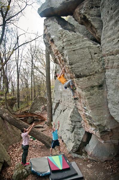 Gabe DeWitt_Matt Jones_Coopers Rocks_May 06, 2011-
