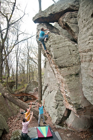 Gabe DeWitt_Pete Clark_Coopers Rocks_May 06, 2011--2-2