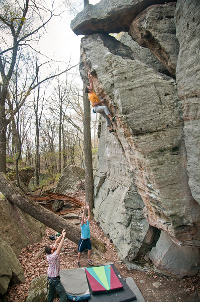 Gabe DeWitt_Matt Jones_Coopers Rocks_May 06, 2011--3