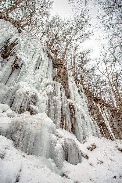 Ice Climbing_Confluence PA_by Gabe DeWitt_January 31, 2014--36