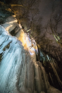 Ice Climbing_Confluence PA_by Gabe DeWitt_January 31, 2014--48