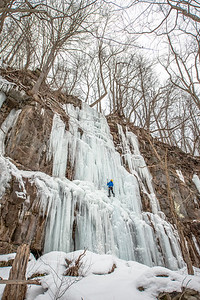 Ice Climbing_Confluence PA_by Gabe DeWitt_January 31, 2014--33