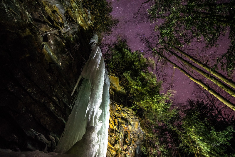 Gabe DeWitt_Swallow Falls Ice Climbing_January 29, 2014-