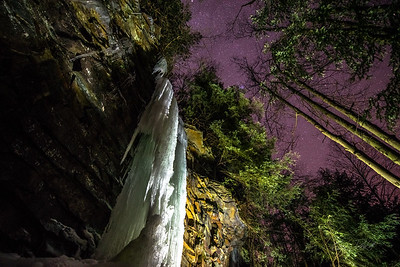 Gabe DeWitt_Swallow Falls Ice Climbing_January 29, 2014-