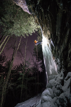 Gabe DeWitt_Swallow Falls Ice Climbing_January 29, 2014--25