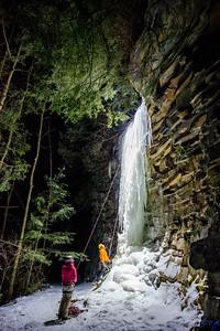 Gabe DeWitt_Swallow Falls Ice Climbing_January 29, 2014--29