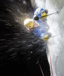 Gabe DeWitt_Swallow Falls Ice Climbing_January 29, 2014--44