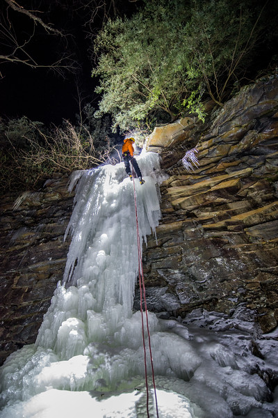 Gabe DeWitt_Swallow Falls Ice Climbing_January 29, 2014--27