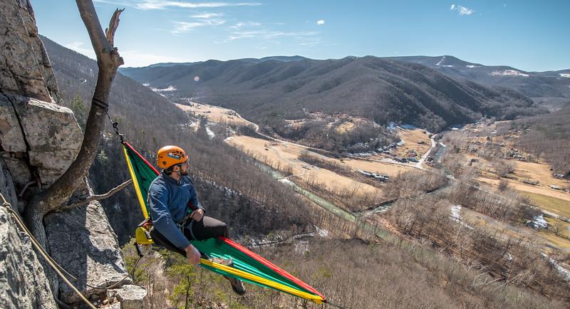 Seneca Rocks Climbing_photos by Gabe DeWitt_February 22, 2014--17