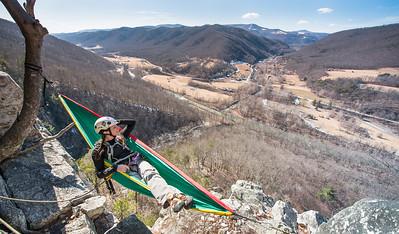 Seneca Rocks Climbing_photos by Gabe DeWitt_February 22, 2014--16