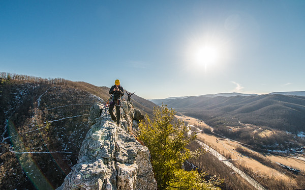 Seneca Rocks Climbing_photos by Gabe DeWitt_February 22, 2014--22