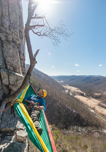 Seneca Rocks Climbing_photos by Gabe DeWitt_February 22, 2014--14