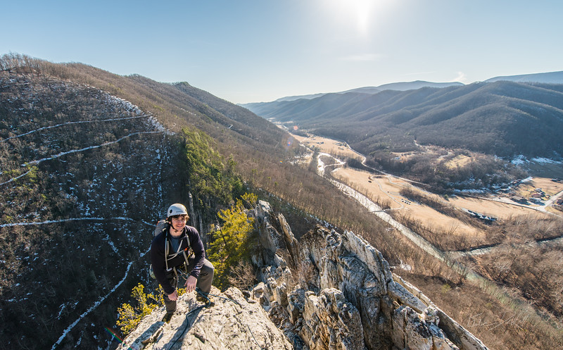 Seneca Rocks Climbing_photos by Gabe DeWitt_February 22, 2014--20