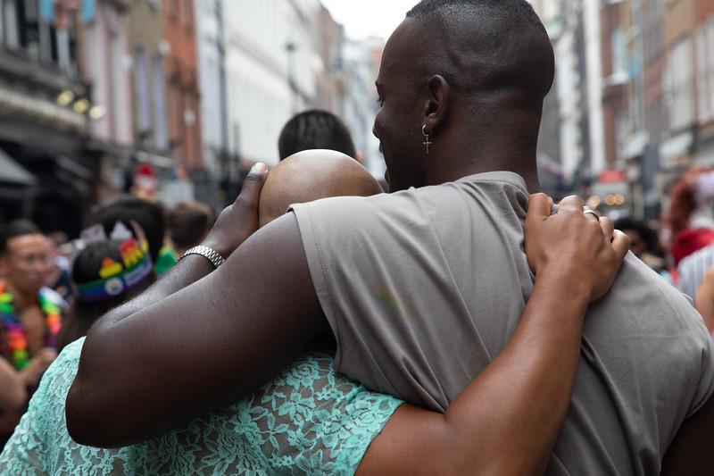 Colourful scenes at London Pride