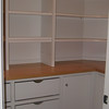 Primed Pantry with glued cypress surface
