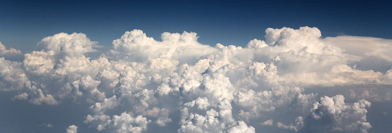Clouds @ 30,000 feet