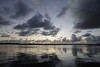 Cloud reflections<br /> Sunrise over Lake Worth, Florida